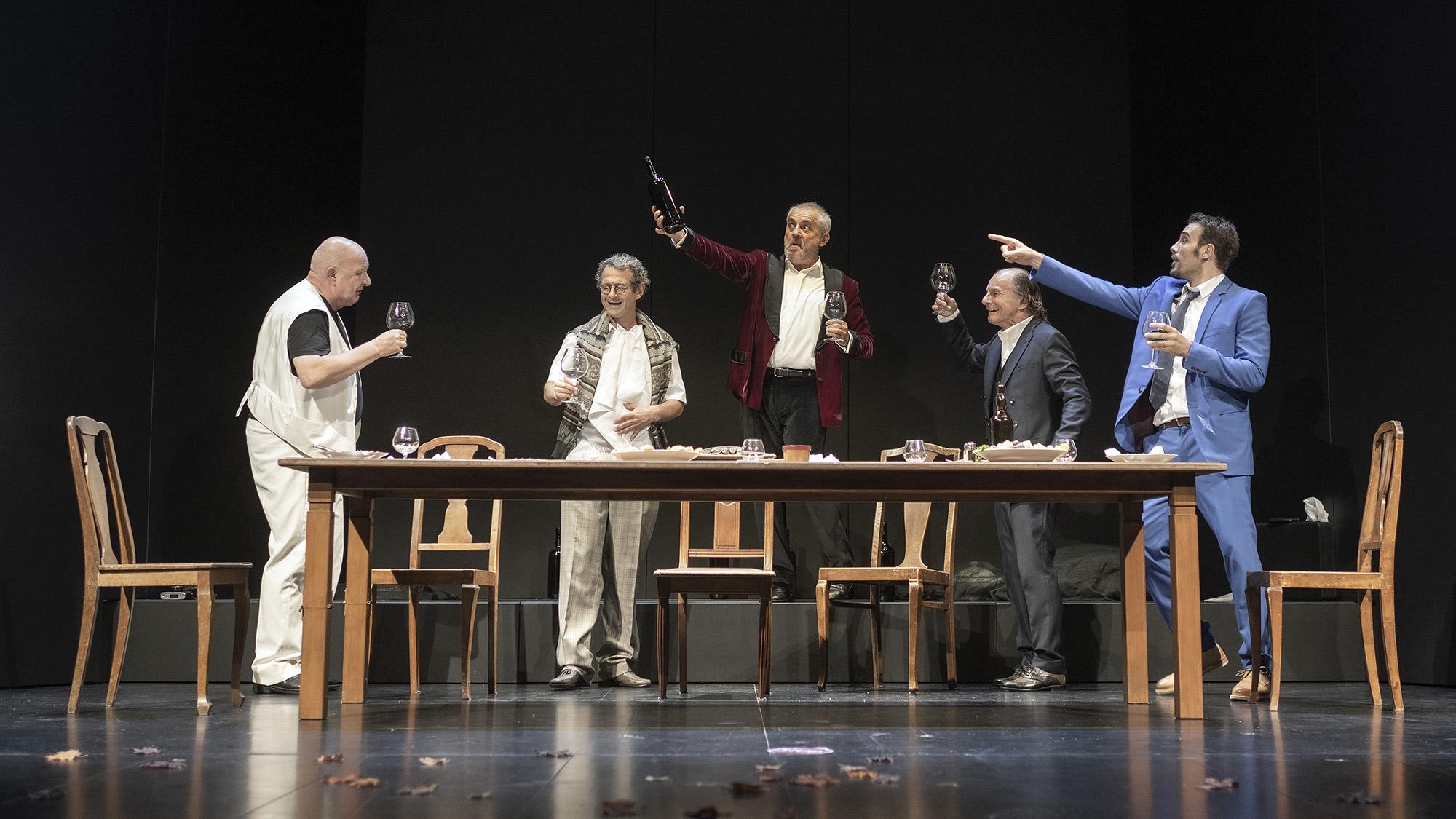 Die Panne, Friedrich Dürrenmatt, TOBS, Stadttheater Solothurn