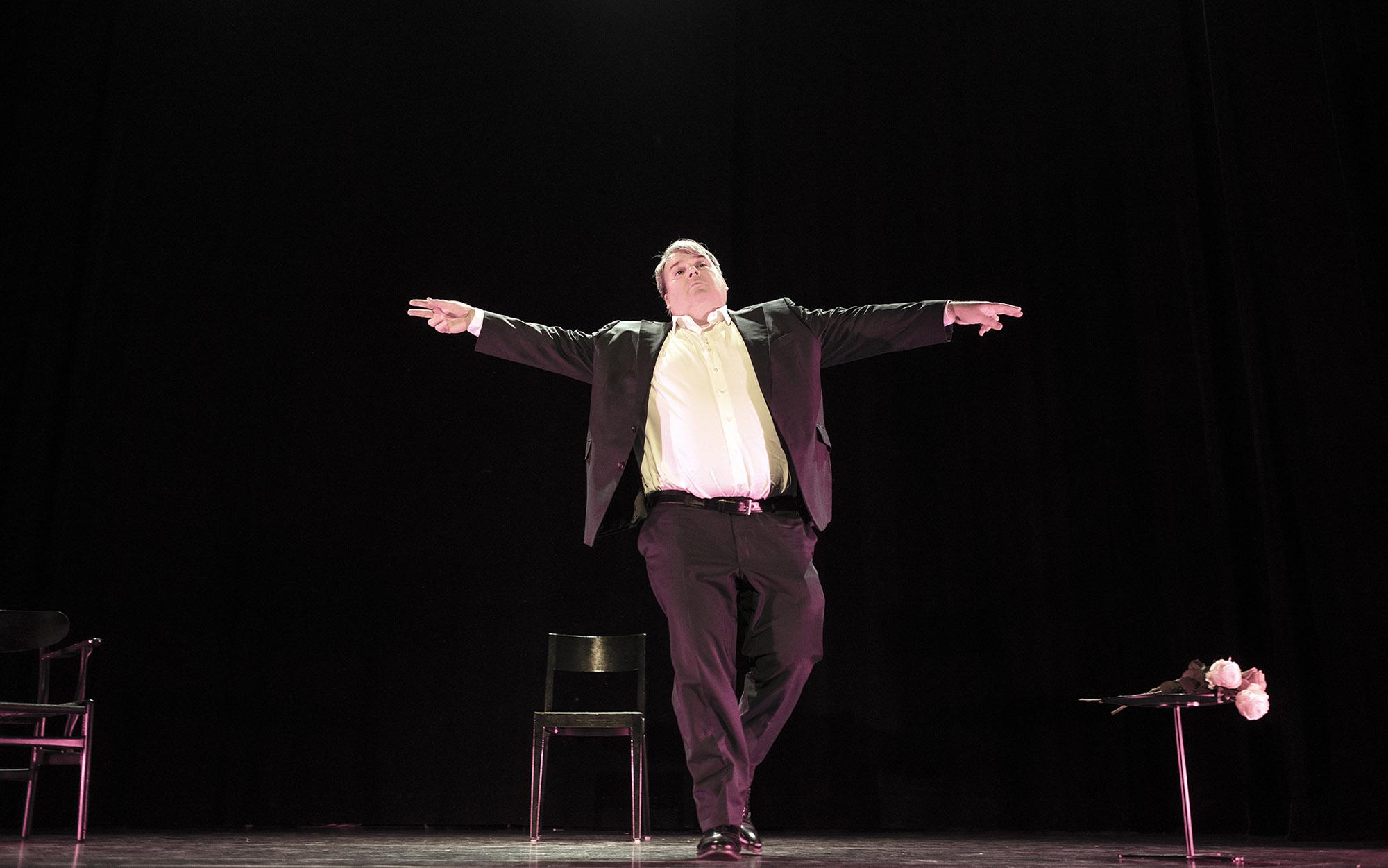 Mike Müller, Schauspieler, Kabarettist, Theater, Casino Theater Burgdorf Regie: Rafael Sanchez